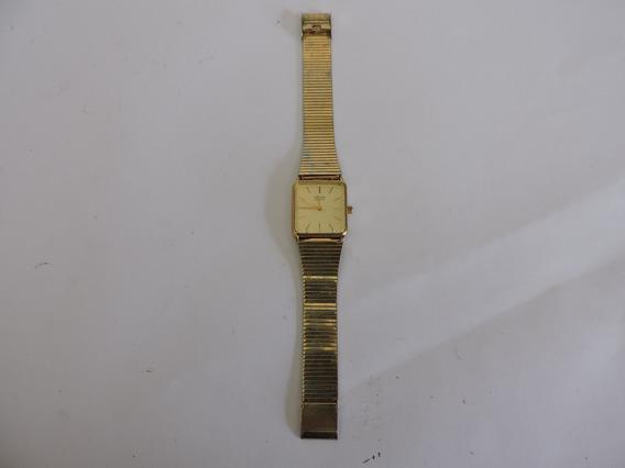 Relogio Orient Dourado Gp Stainless Anos 70 A535821-40