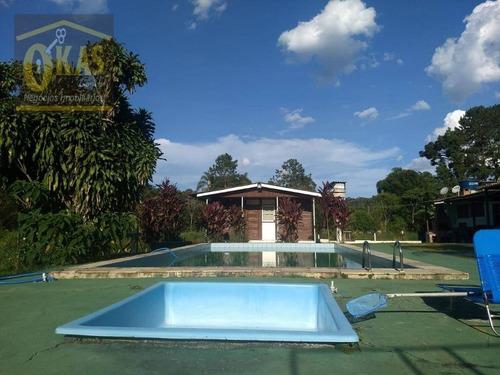 Imagem 1 de 30 de Chácara À Venda, 21883 M² Por R$ 870.000,00 - Quatinga - Mogi Das Cruzes/sp - Ch0046