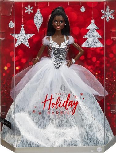Imagem 1 de 9 de Barbie Holiday 2021 Signature Collector Natal Festa Negra