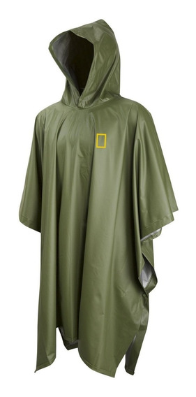 Poncho Impermeable National Geographic Adulto Png01