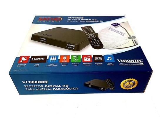 Receptor Digital Hd Para Antena Parabolica - Vt1000hd