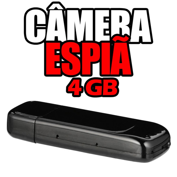 Camera E Gravador Espiao Mini Fotografica Filmadora 8gb