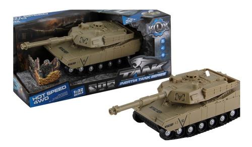 Tanque De Guerra Fricción