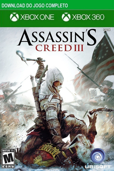 Assassins Creed 3 Xbox 360 / One