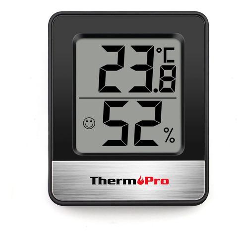 Imagen 1 de 5 de Termómetro Higrómetro Digital Thermopro Tp-49 Cultivo Indoor