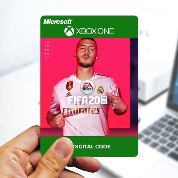 Ea Sports Fifa 20 - Cartão 25 Dígitos - Xbox One