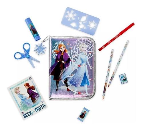 Disney Frozen Set De Colores Original Tienda Disney