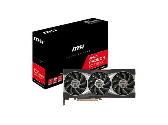 Placa De Video Msi Rx 6900 Xt 16gb 4k Radeon Gddr6