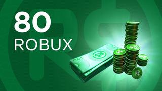 Roblox - 80 Robux Para El Juego Roblox