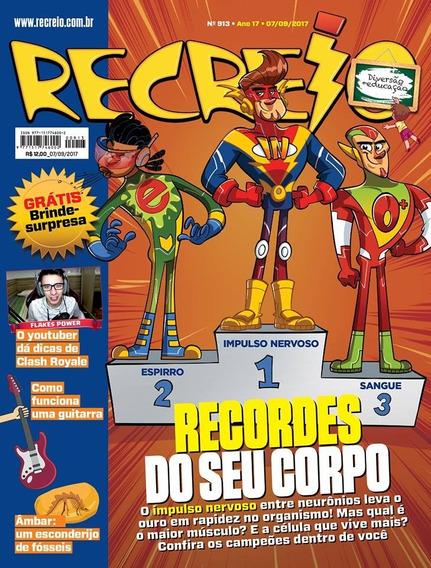 Kit Coleção Recreio Monster Club (4 Revistas + 4 Surpresas)