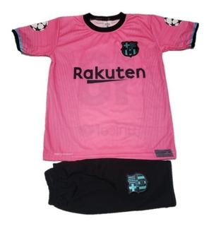 Camisa Barcelona Infantil Rosa Mercadolivre Com Br