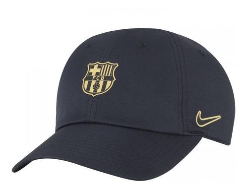 incluir Claire sensibilidad  Bone Barcelona Nike Adulto Original Aba Curva Azul Strapback | Mercado Livre