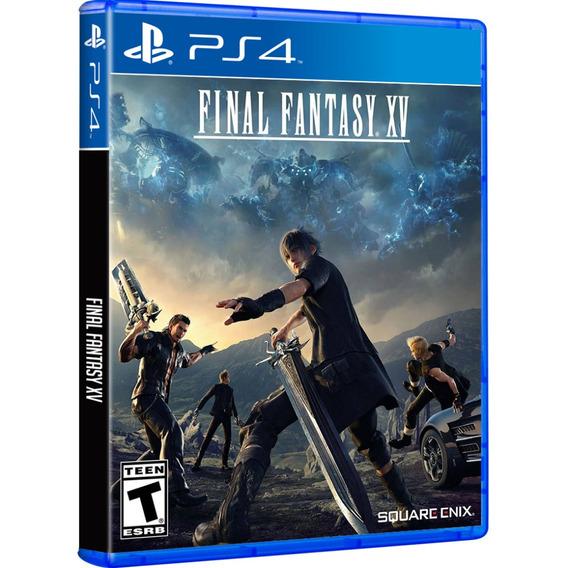 Jogo Final Fantasy Xv 15 Ps4 Disco Fisico Lacrado Português