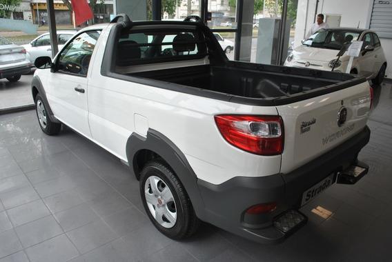 Fiat Strada 0km Anticipo De 200mil Cuotas Sin Interes!