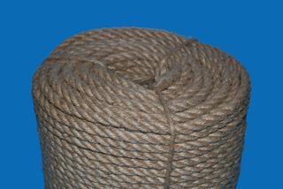 Cordel / Cuerda Cañamo Yute Natural (10mm X 100m Aprox)