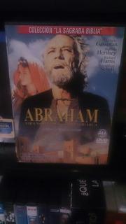 Abraham Colección La Sagrada Biblia Dvd Original