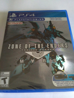 Zone Of The Enders The 2nd Runner Ps4 Nuevo Sellado