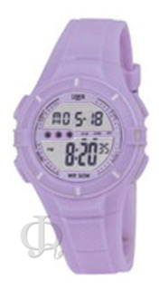 Reloj Niño Digital Luz Alarma Crono Lemon Dl205