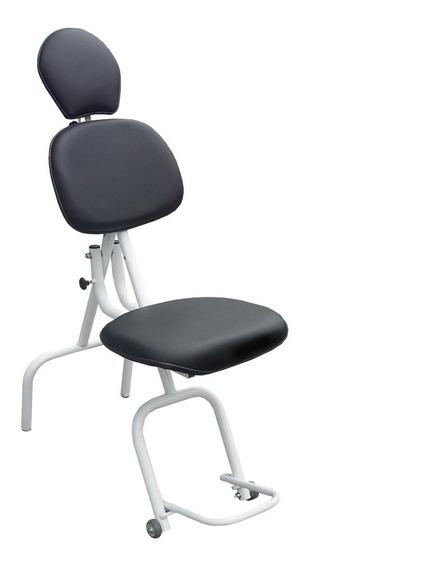 Cadeira De Maquiagem Estética Portátil Design Sobrancelha Nf