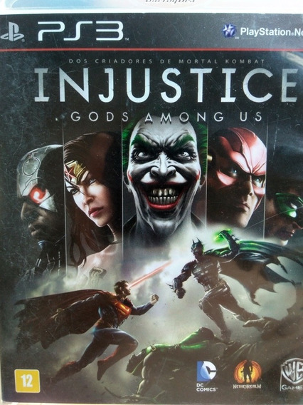 Injustice Gods Amongus Ps3 Original , A Pronta Entrega