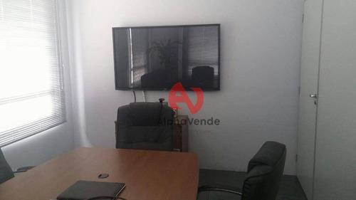 Sala Comercial Para Venda E Locação, Alphaville , -mobiliada - Sa1519