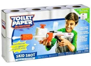 Pistola De Juguete De Papel De Baño Toilet Paper Blaster