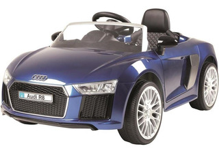Carrinho Elétrico Xalingo Audi R8 1092.0, Azul
