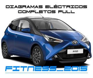 Diagramas Electricos Toyota Aygo 2014 - 2019 Full 3 Puertas