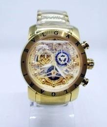 Relógio Bullgari Masculino Esqueleto