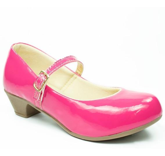 Sapatilha Infantil Feminina Salto Sandalia Sapato Boneca 11