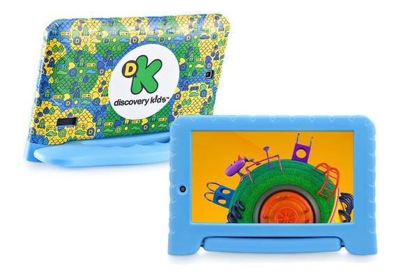 Tablet Infantil Criança Discovery Kids Quad Wifi 7