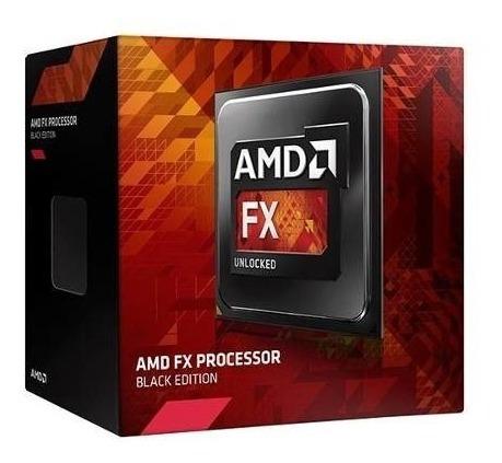 Processador Amd Am3+ Fx-6300, 14mb, 3.5ghz Box Novo Lacrado