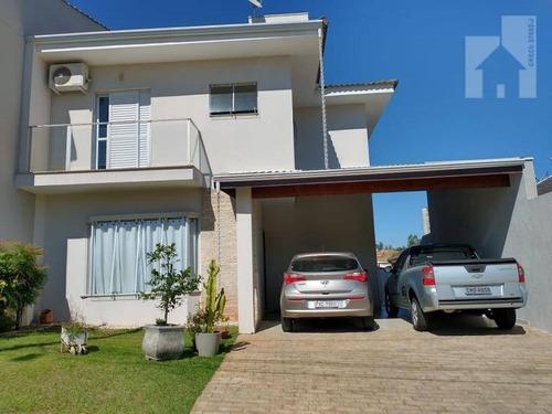 Casa Alto Padrão À Venda No Condomínio Primavera -  Campo Limpo Pta - Sp - A.t. 250m2 - A.c. 209m2 - Ca0991