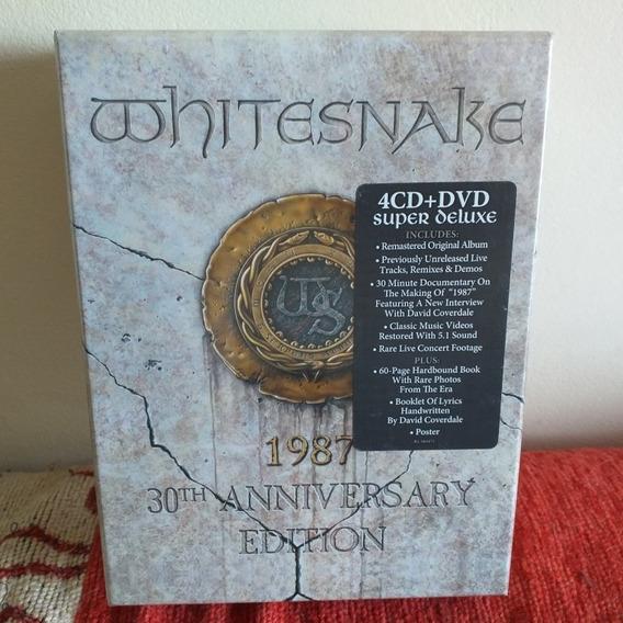 Whitesnake: 1987 30 Th Anniversary -box : 4 Cd + Dvd