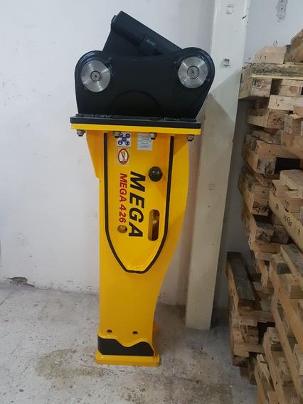 Martillo Hidraulico Marca Mega 426 Para Retroexcavadora