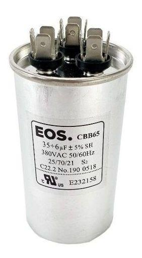Capacitor De Partida Para Ar Condicionado Compressor 35+6 Uf
