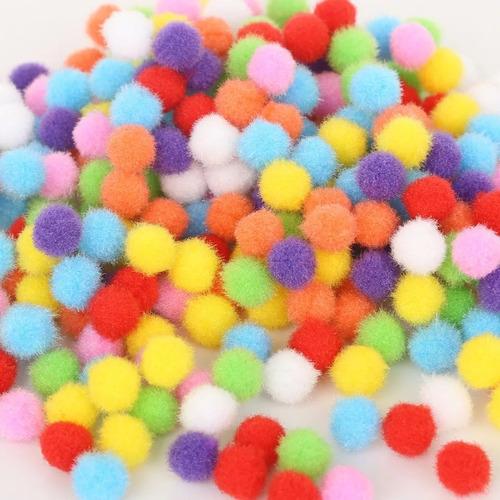 Pom Pom Pompones De 4 Cm X 50 Und, Manualidades Artesanías