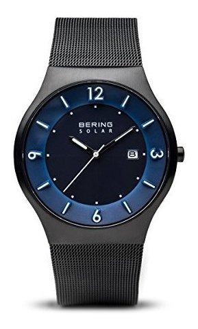 Bering 14440-227 - Reloj Analógico Con Correa De Acero Inoxi