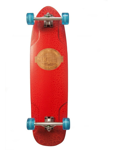 Skate Super Cruiser Bamboo Fibra Mk Reptil Envio Gratis