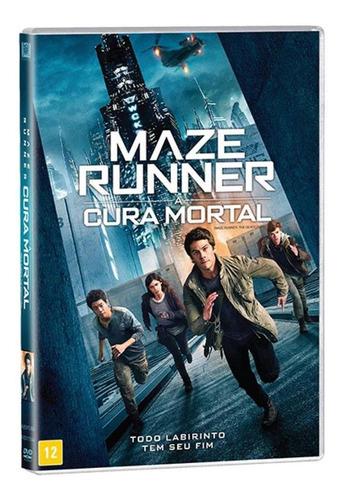 Imagem 1 de 1 de Maze Runner - A Cura Mortal - Dvd - Dylan O'brien - Novo