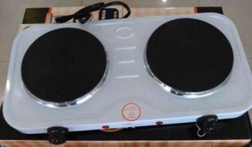 Cocina 2 Hornillas Eléctrica Homestar Disco