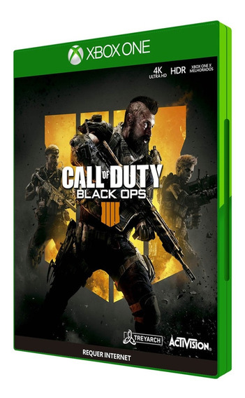 Call Of Duty Black Ops 4 Midia Fisica Xbox One Em 12x