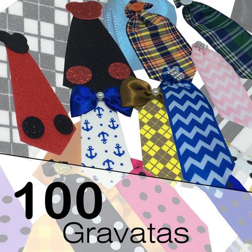 100 Gravatas Pet  De Alta Qualidade-  R$ 0,64 Por Unidade