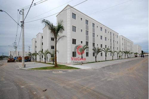 Imagem 1 de 12 de Apartamento 2 Quartos, Atlântica, Rio Das Ostras, Rj - Ap0237