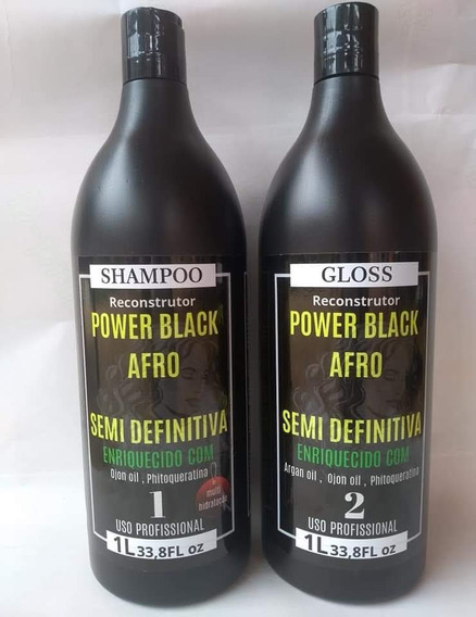 Progressiva Power Black Afro Semi Definitiva