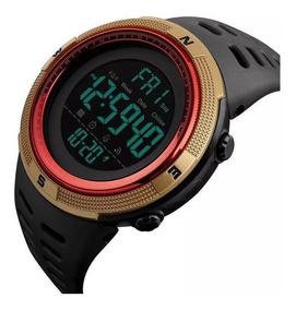Relógio Digital Militar Skmei Conquer - Corrida Natação 1251