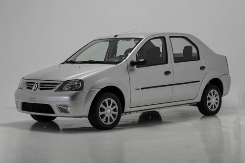 Renault Logan 1.0 Authentique 16v Flex Prata