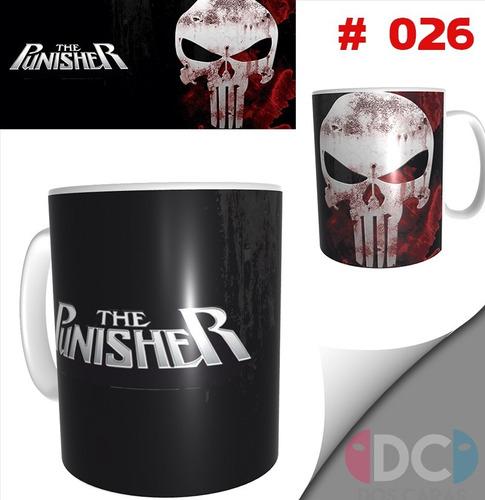 Taza Comics Coleccionable The Punisher Castigador  #026