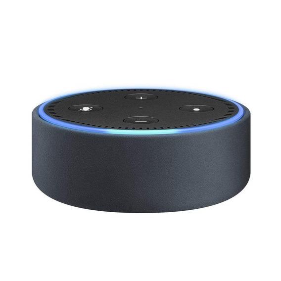 Capa De Couro Para Echo Dot 2ª Geração - Midnight