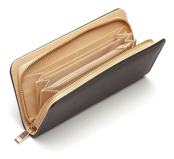 Billetera De Mujer Con Monedero Portatarjetas